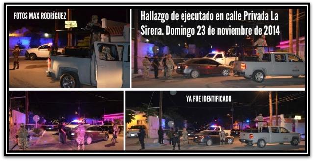 2 - 1 privada la sirena homicidio domingo 23 de noviembre de 2014