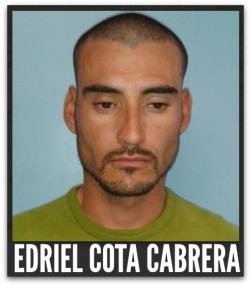 EDRIEL COTA CABRERA DROGA EN LA PAZ BCS