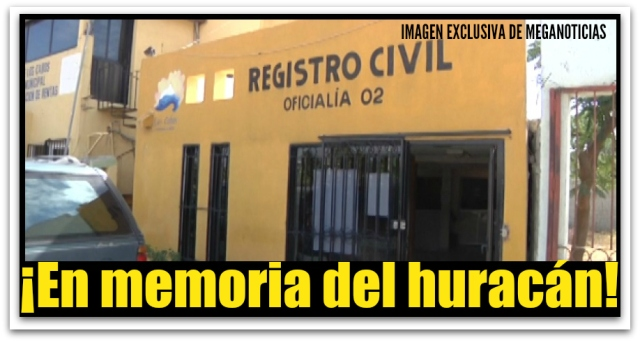 REGISTRO CIVIL CABO SAN LUCAS