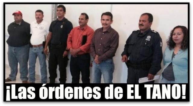COMANDANTES POLICIAS COMONDU
