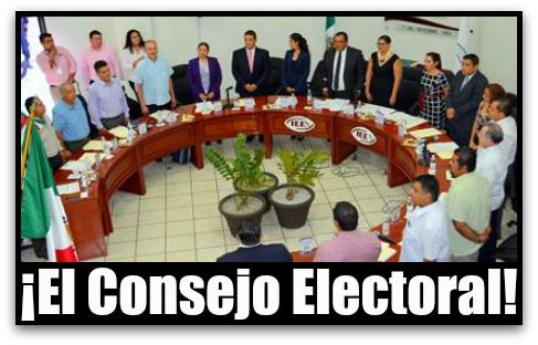 CONSEJO DEL INSTITUTO ESTATAL ELECTORAL BCS