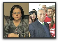 ESTHELA PONCE CON ISAIAS GONZALEZ