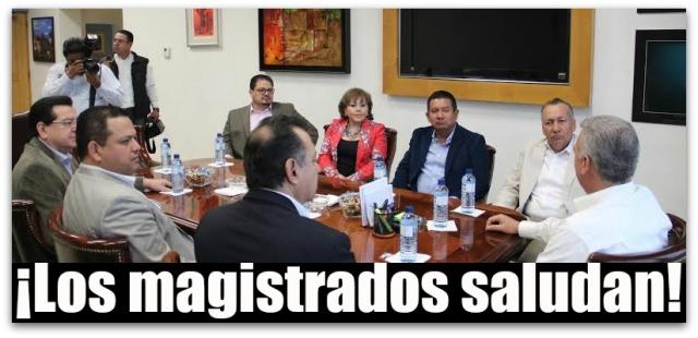 MAGISTRADOS CON MARCOS COVARRUBIAS