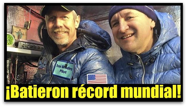 RECORD EN GLOBO