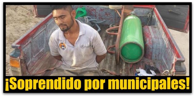 ROBO EN CABO SAN LUCAS TANQUE DE GAS