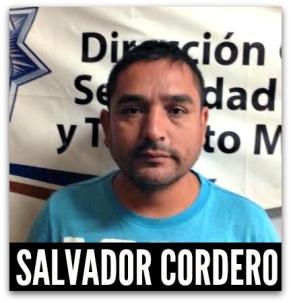 SALVADOR CORDERO ESCAREÑO DETENIDO OTRA VEZ - ESTUVO PRESO POR VIOLADOR SERIAL