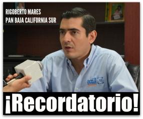 RIGOBERTO MARES PAN BCS ACLARACION