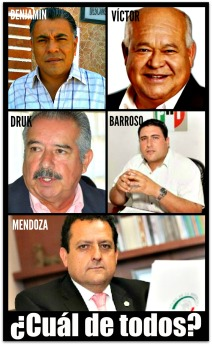 CANDIDATOS A GOBERNADOR DE BCS 2015