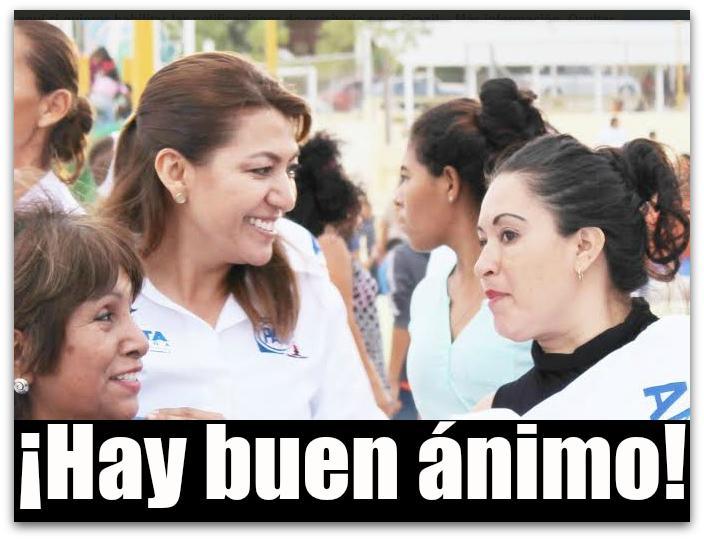 Va Lupita Saldaña en primera fórmula al Senado de la República por el PAN