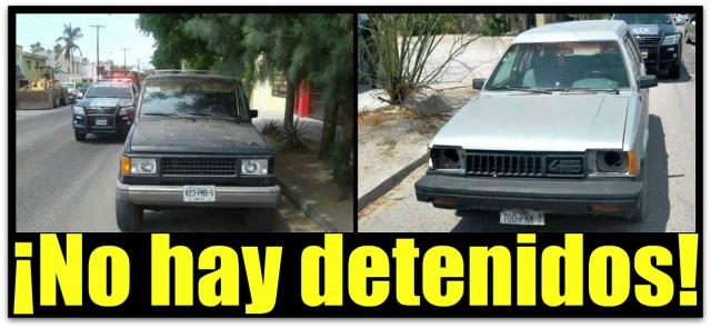 1 automoviles robados en la paz