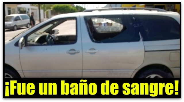 1 a balacera padre kino vehiculo atacado