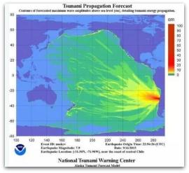 1 a alerta de tsunami para el pacifico