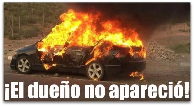 1 a incendio vehiculo playa el sonorense