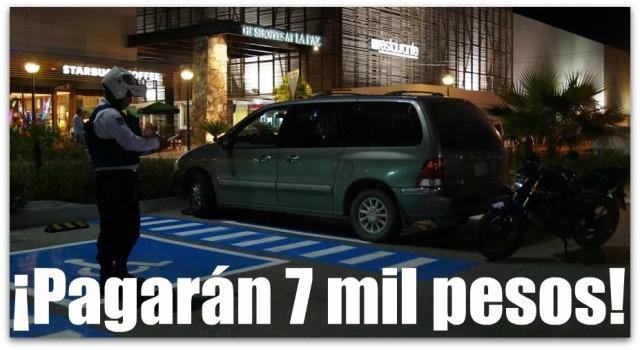 1 a multas vehiculos discapacitados