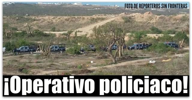 1 a operativo policiaco invasion cabo san lucas