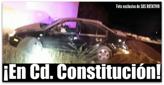 0 accidente con un muerto ciudad constitucion