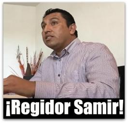 0 a agua potable regidor samir savin