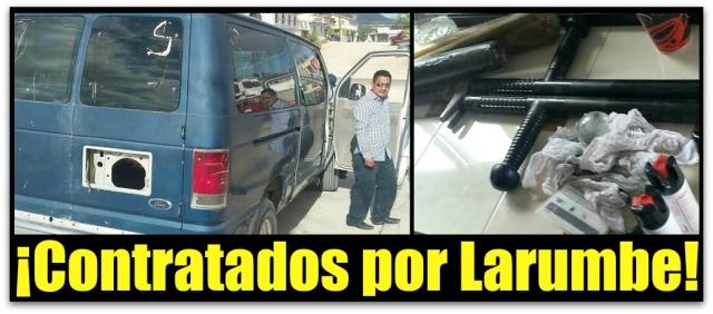 0 A AHI LOS CHOLOS CONTRATADOS POR LARUMBE
