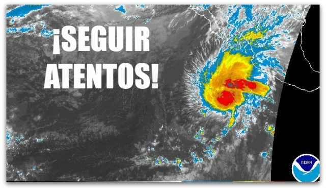 0 a huracan sandra pacifico jueves