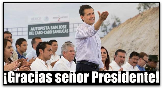 0 a presidente peña nieto cabo san lucas hoy