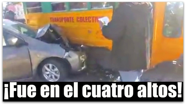 c ahi el accidente vs pesera la paz bcs