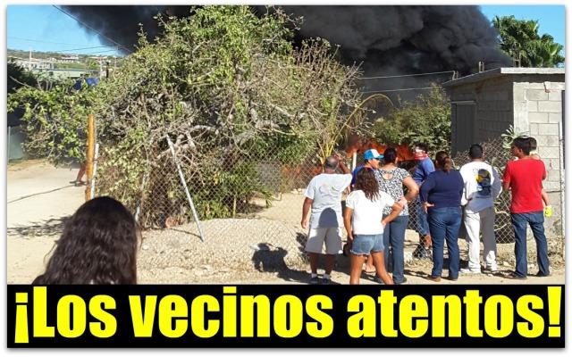 0 a comunidad de la playa incendio