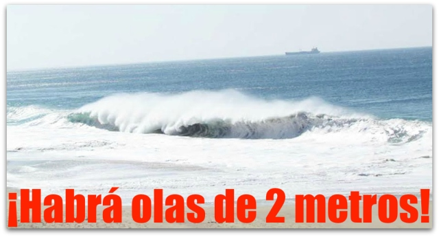 0 a mar de fondo en comondu olas