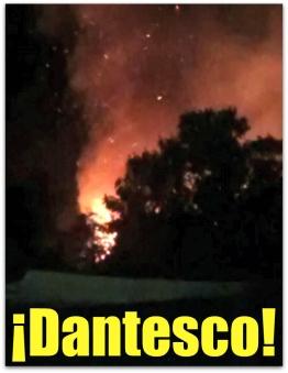 d a incendio en santiago bcs