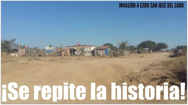 O A EJIDO SAN JOSE INVASION NUEVA ESPERANZA