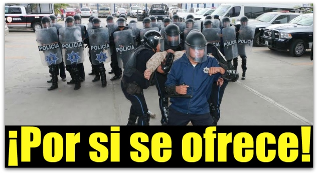 0 a a policia antimontines los cabos