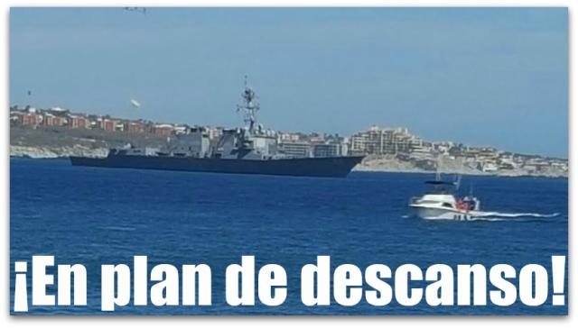 0 a buque de la uss navy en cabo san lucas
