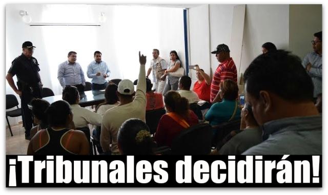 0 a delegado municipal con invasores de cabo san lucas