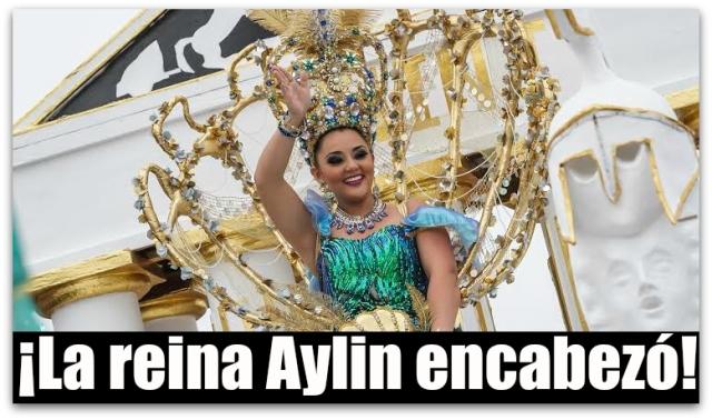 0 a desfile reina del carnaval 2016 ailin