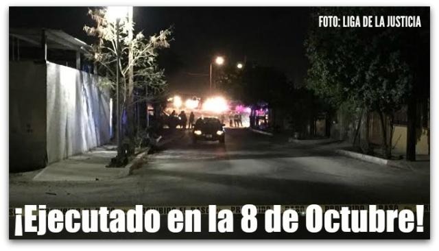 0 a homicidio en la colonia 8 de octubre en la paz