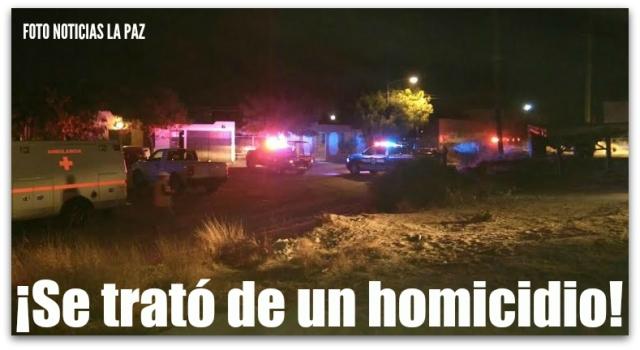 0 a homicidio en la colonia 8 de octubre noticias la paz