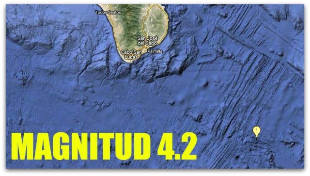 0 a temblor al sur de san jose del cabo