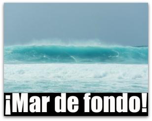 olas mar de fondo