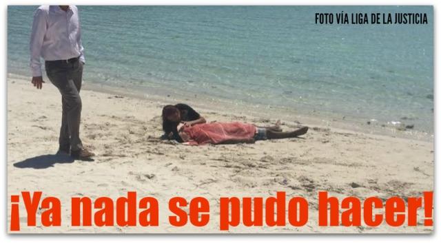 0 a a ahogado en playa balandra
