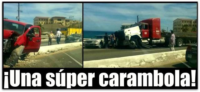 0 a colision en puente de costa azul