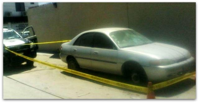 0 a vehiculo reportado como robad