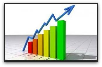 0 a a a capacidad credito economia a la alza grafica