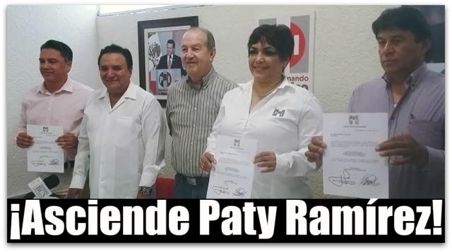 0 a a a coordinadora de diputados paty ramirez