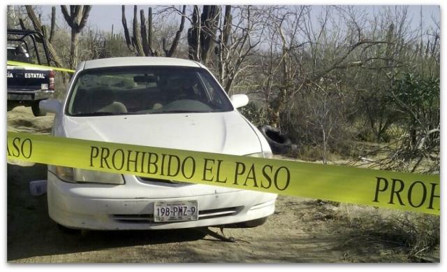 0 a vehiculo con reporte de robo en la paz