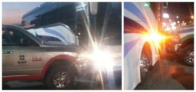0 a a camioneta del sat vs aguila