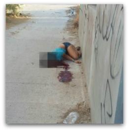 0 a asesinato de joven mujer colonia esperanza