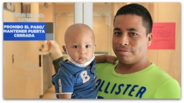 0 a niño con cancer hospital salvatierra