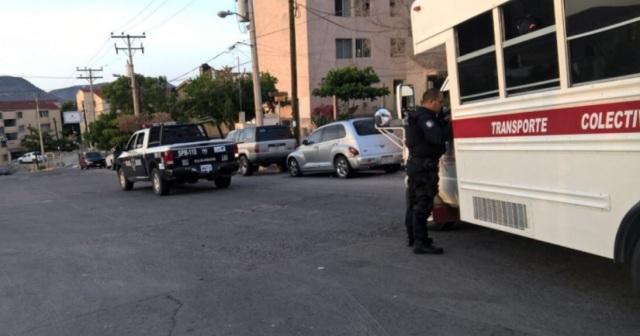 0 asaltos camiones urbanos