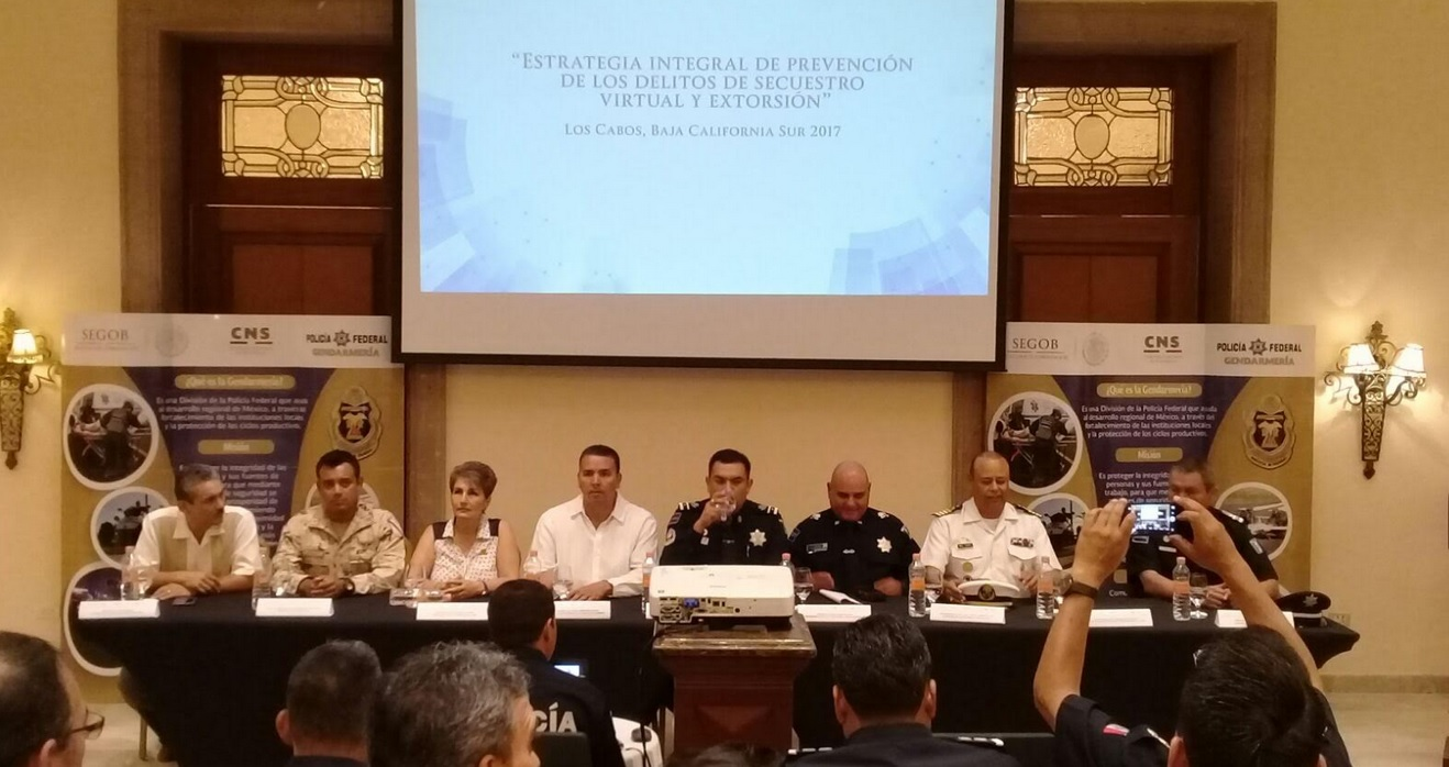 Presentan Estrategia de Prevención de Delitos de Secuestro Virtual y Extorsión