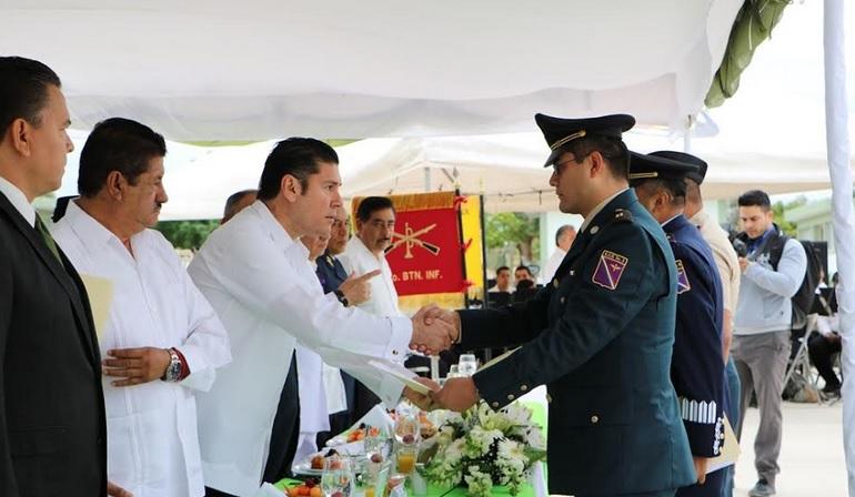 Reconoce gobierno estatal labor del Ejército Mexicano