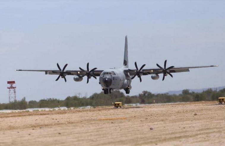 Anuncian visita para exhibición de aviones caza huracanes
